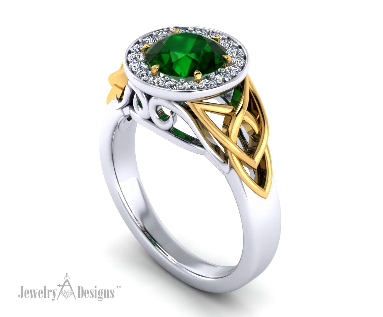 Celtic Trinity Knot Ring