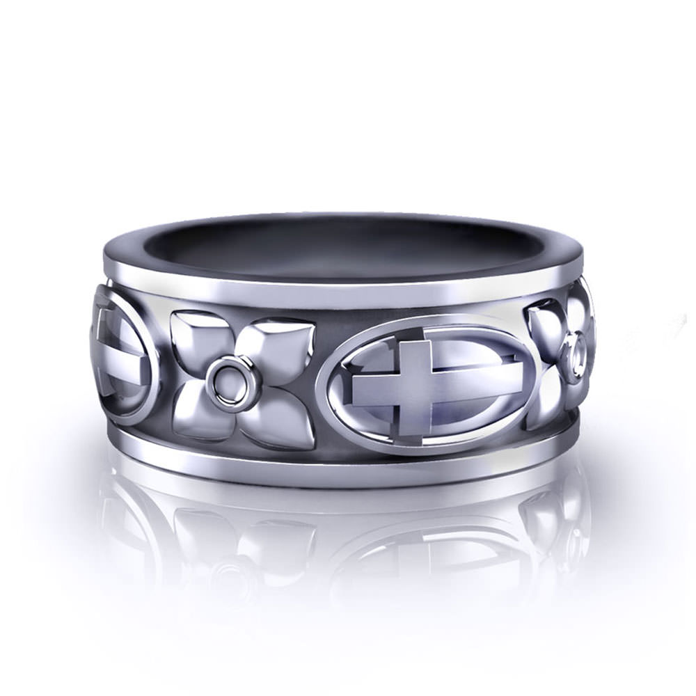 Christian wedding rings for Wedding ring christian