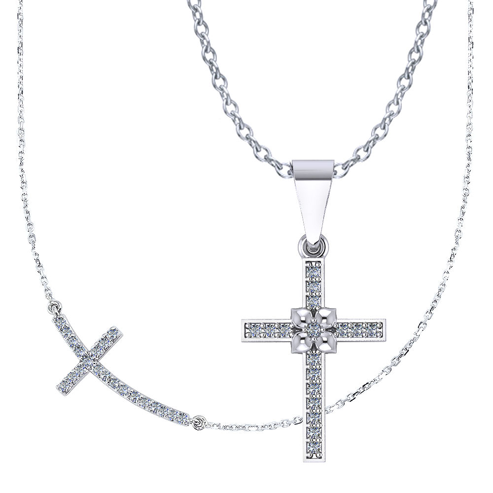 Cross necklace jewelry designs of the christian faith we would love the opportunity to share our work with you if you have an unusual request we will custom design the symbolic biocorpaavc Images