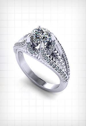 Custom <br>Engagement Rings