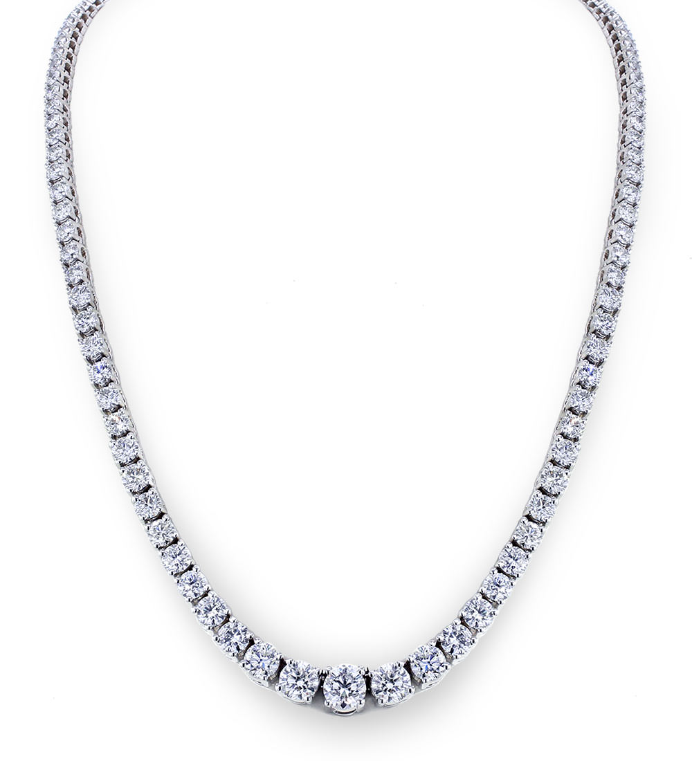 Diamond Necklace For Her