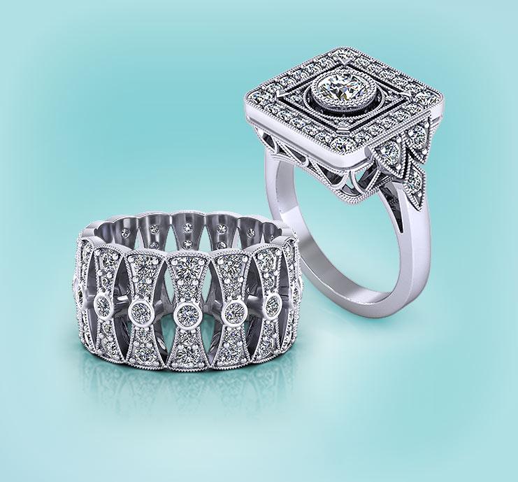 Browse Diamond Rings