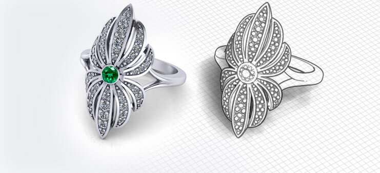 Design Your Own Emerald Jewelry