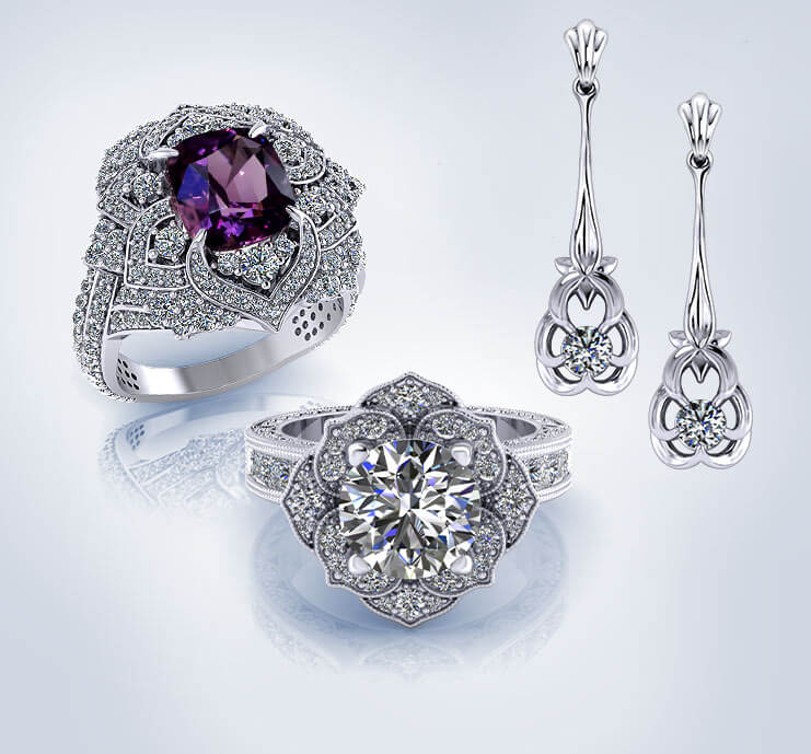 Browse Floral Jewelry