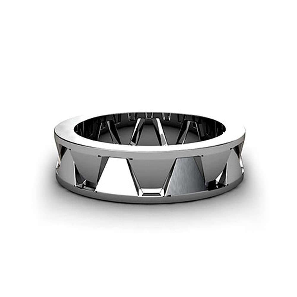 mens wedding rings wedding ring mens geometric mens wedding rings MWRLP 2