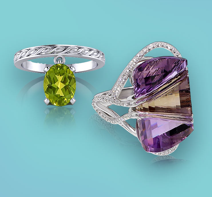 Browse Gemstone Rings