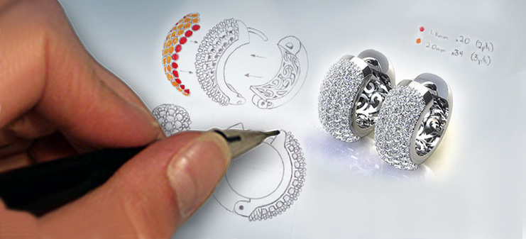 Jewelry designs fine jewelers since 1980 for Same day jewelry repair