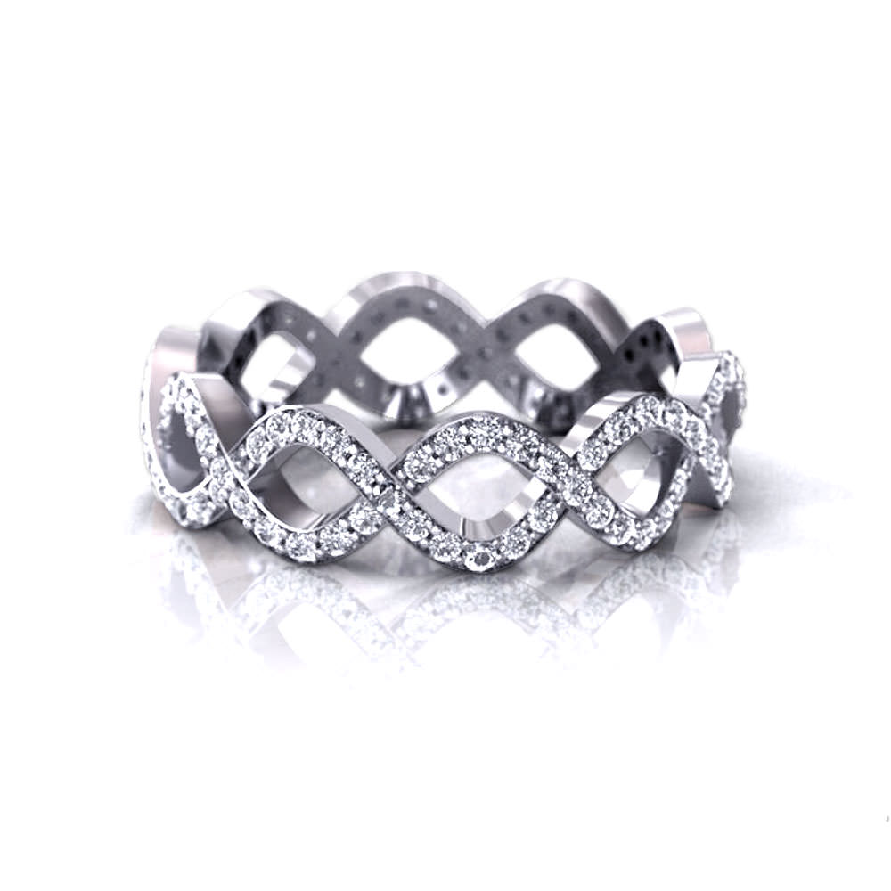 infinity band creative instagram on best fashion bands wedding ring gallery rings