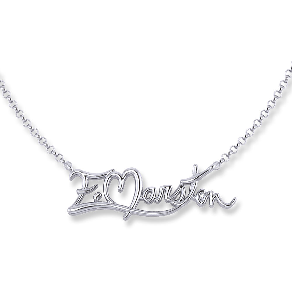 Name Necklace Jewelry Designs