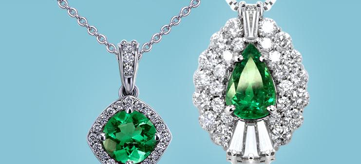 Emerald Necklaces