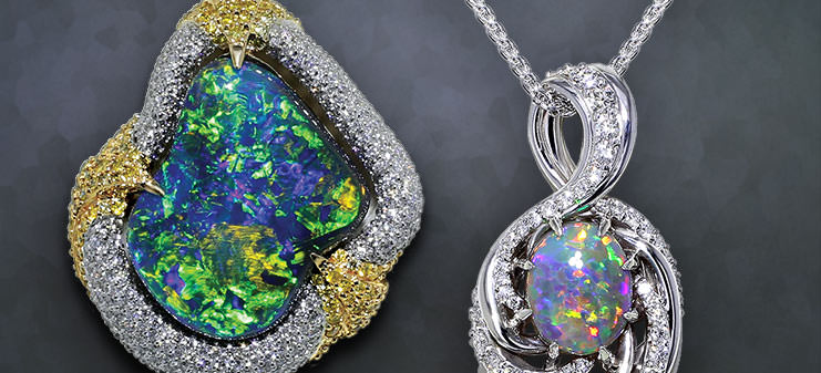 Opal Necklaces