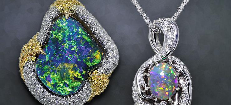 Opal Necklaces