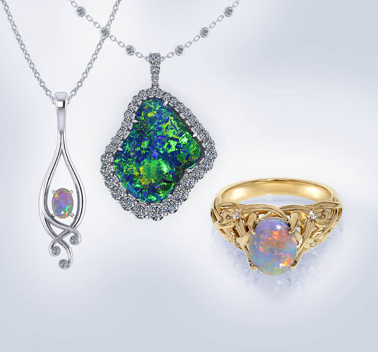 Browse Opal Jewelry