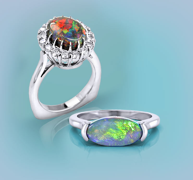 Browse Opal Rings