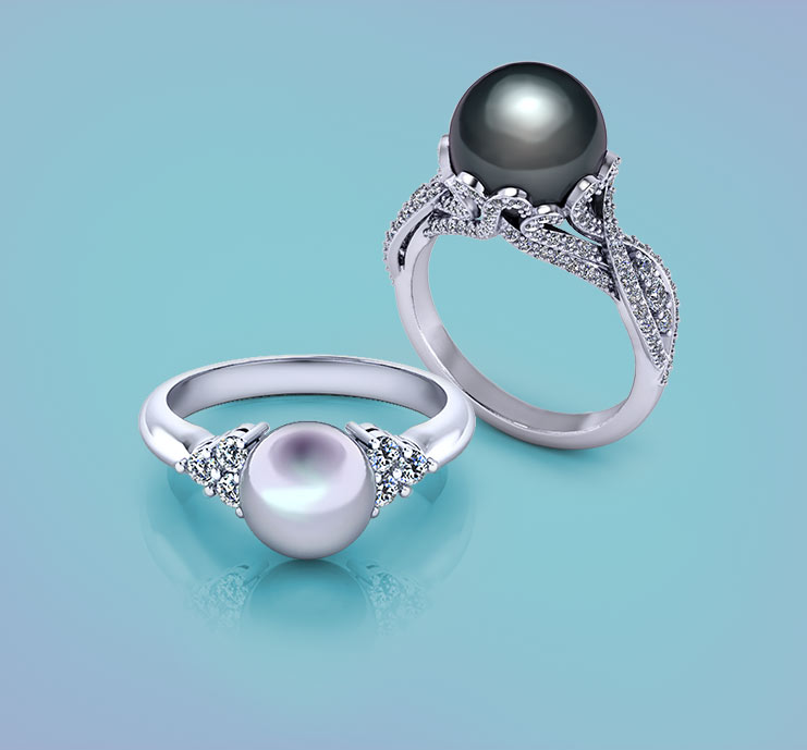 Browse Pearl Rings