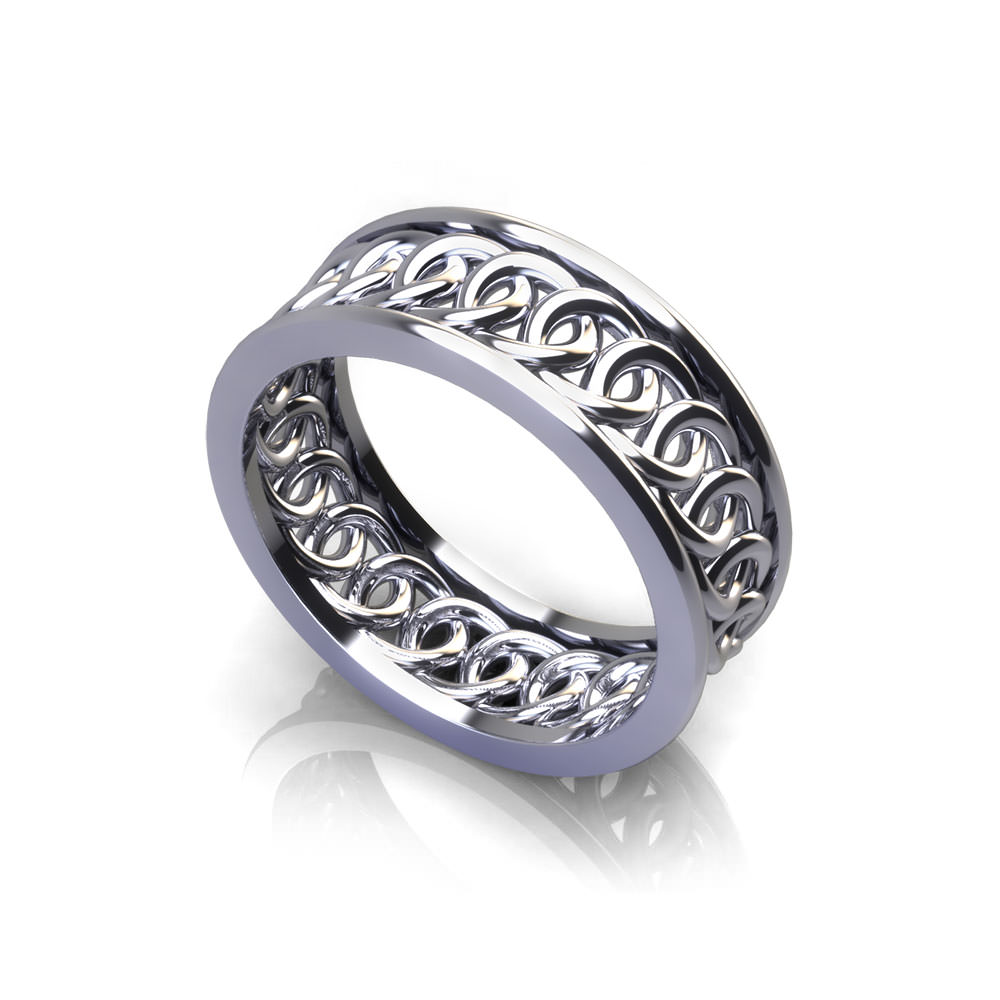 Interlocking Circle Wedding Ring: Intertwining Ring Renaissance Wedding At Websimilar.org