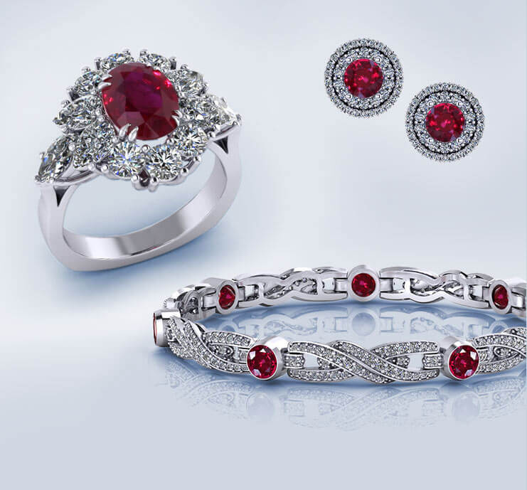 Browse Ruby Jewelry