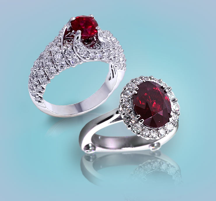 Browse Ruby Rings