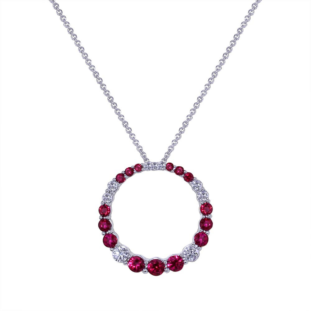 Ruby Necklace Jewelry Designs