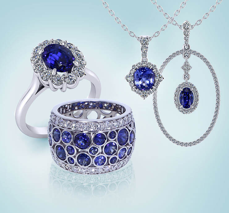 Browse Sapphire Jewelry