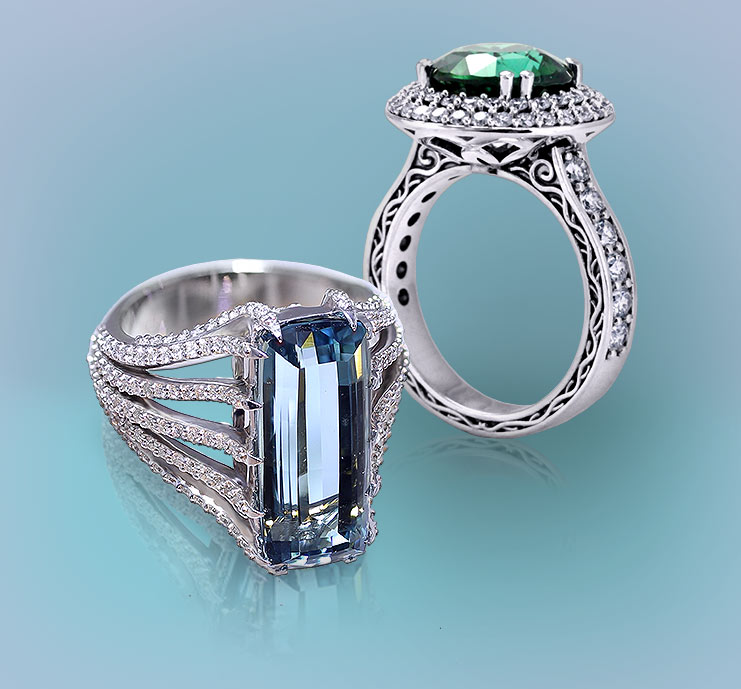 Browse Tourmaline Rings