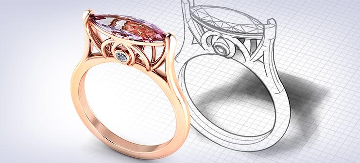 Custom Topaz Rings