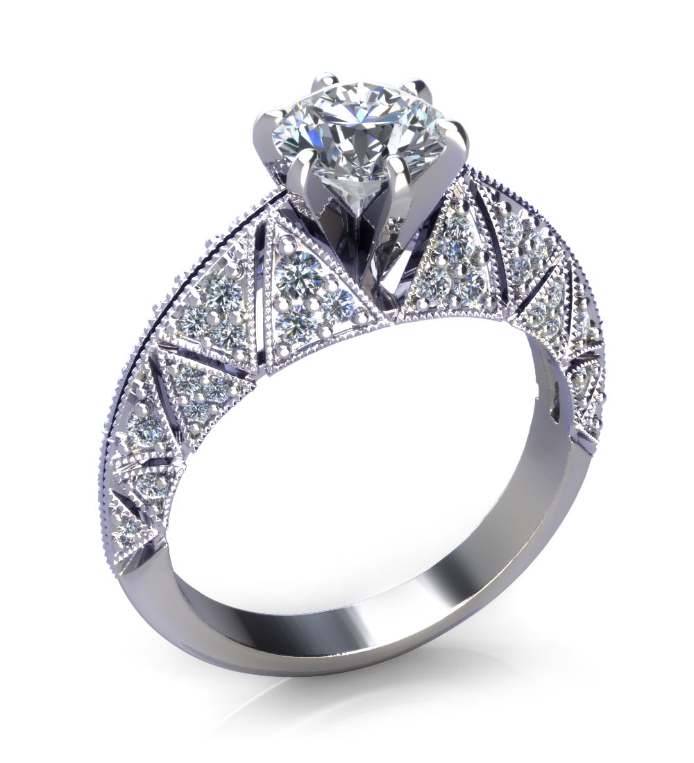 vintage engagement rings jewelry designs