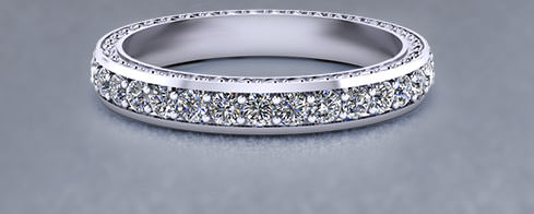 eternity wedding rings - Design A Wedding Ring