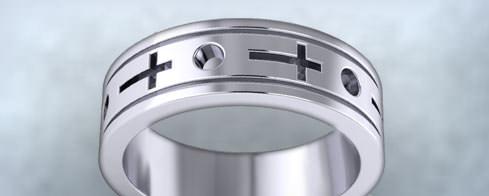Religious Wedding Rings
